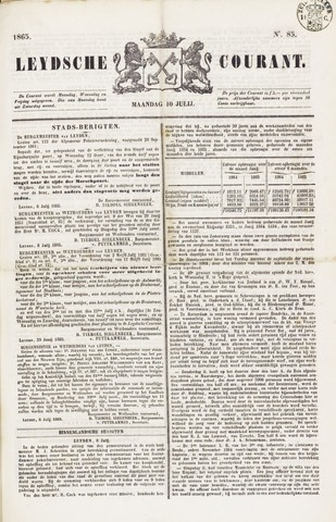 Leydse Courant 1865-07-10