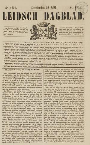 Leidsch Dagblad 1864-07-21