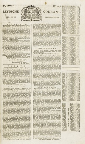 Leydse Courant 1826-08-28