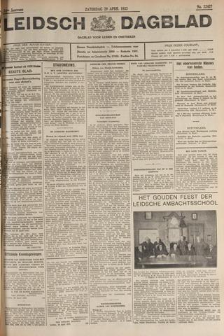 Leidsch Dagblad 1933-04-29