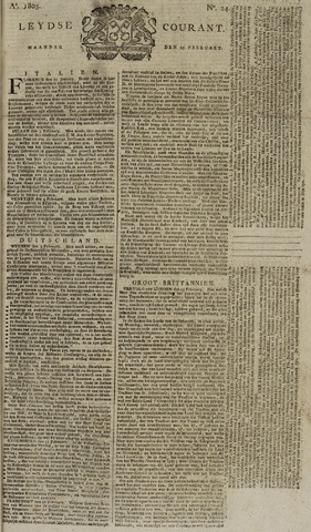 Leydse Courant 1805-02-25
