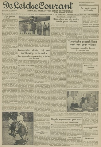 Leidse Courant 1949-08-08