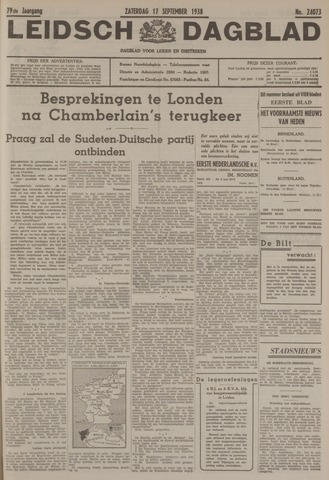 Leidsch Dagblad 1938-09-17