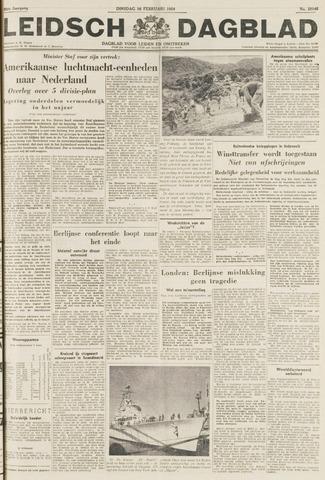 Leidsch Dagblad 1954-02-16