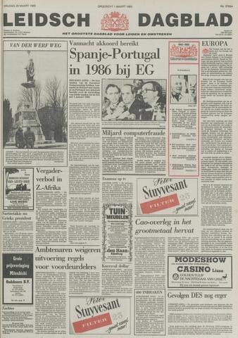 Leidsch Dagblad 1985-03-29