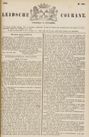 Leydse Courant 1883-11-21