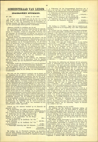 Handelingen van de Raad 1930-07-31