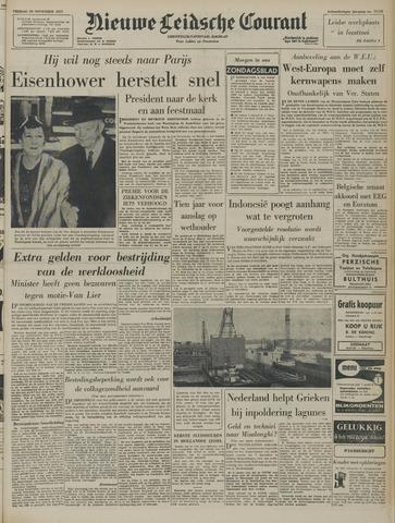 Nieuwe Leidsche Courant 1957-11-29