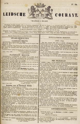 Leydse Courant 1872-03-04