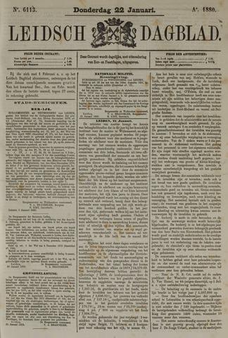 Leidsch Dagblad 1880-01-22