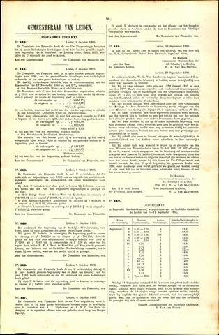 Handelingen van de Raad 1885-10-02