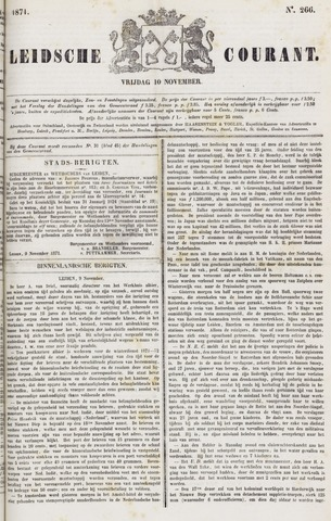 Leydse Courant 1871-11-10