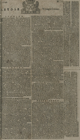 Leydse Courant 1749-02-14