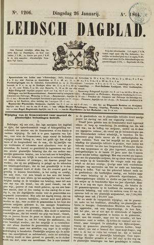 Leidsch Dagblad 1864-01-26