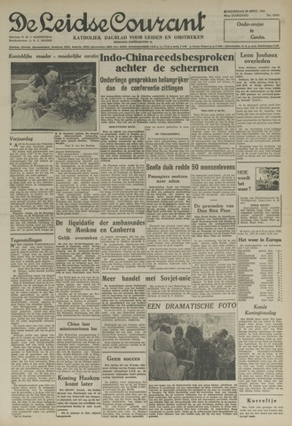 Leidse Courant 1954-04-29