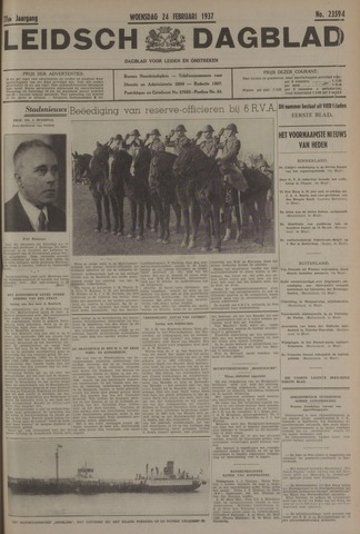 Leidsch Dagblad 1937-02-24