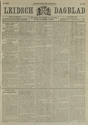 Leidsch Dagblad 1911-01-26