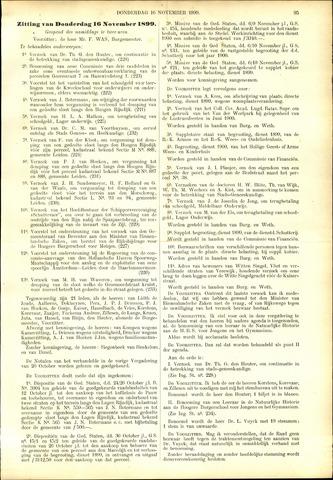 Handelingen van de Raad 1899-11-16