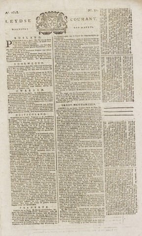 Leydse Courant 1818-04-29