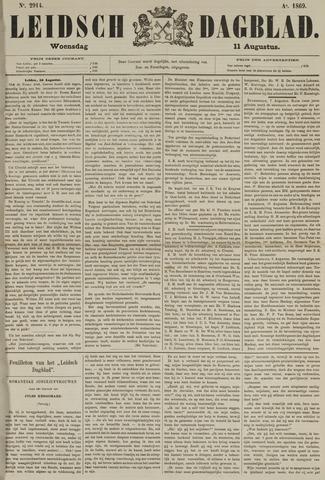 Leidsch Dagblad 1869-08-11