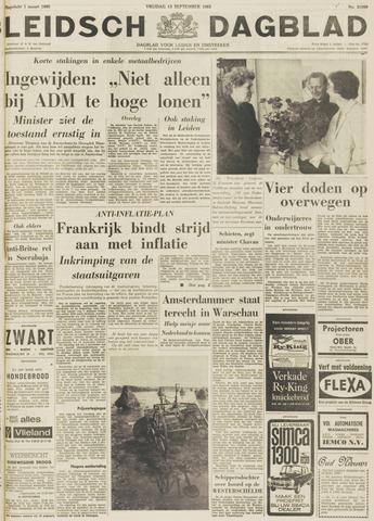 Leidsch Dagblad 1963-09-13