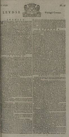 Leydse Courant 1739-02-06
