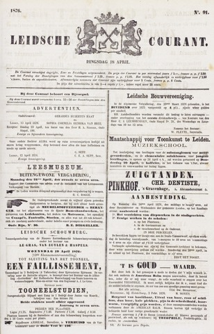 Leydse Courant 1876-04-18