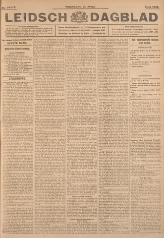 Leidsch Dagblad 1926-04-21