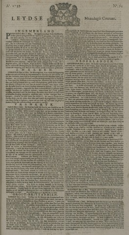 Leydse Courant 1739-06-15
