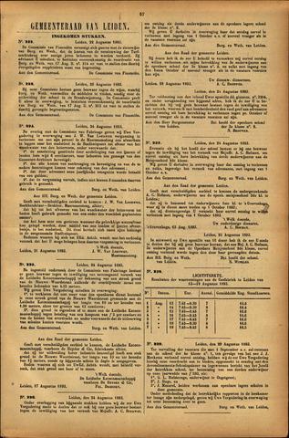 Handelingen van de Raad 1893-08-22