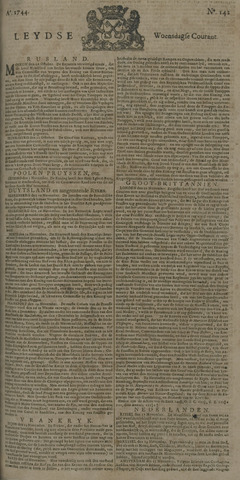 Leydse Courant 1744-11-25