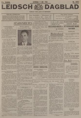 Leidsch Dagblad 1938-07-09