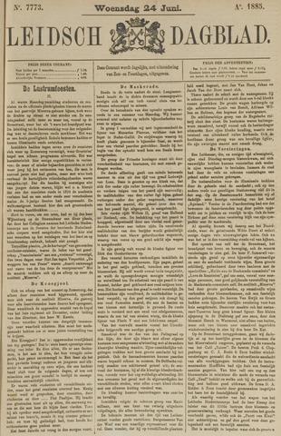 Leidsch Dagblad 1885-06-24