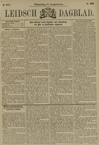 Leidsch Dagblad 1890-08-05