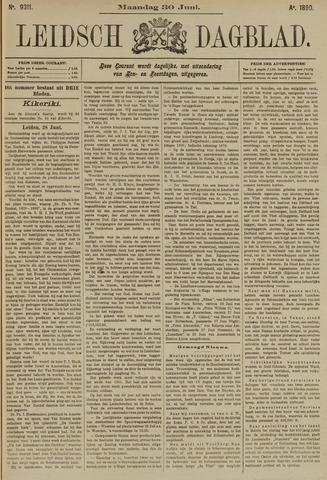 Leidsch Dagblad 1890-06-30