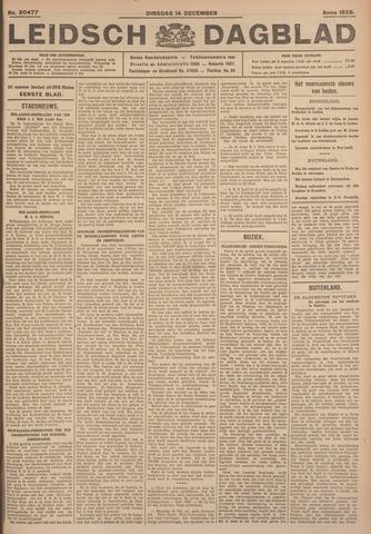 Leidsch Dagblad 1926-12-14
