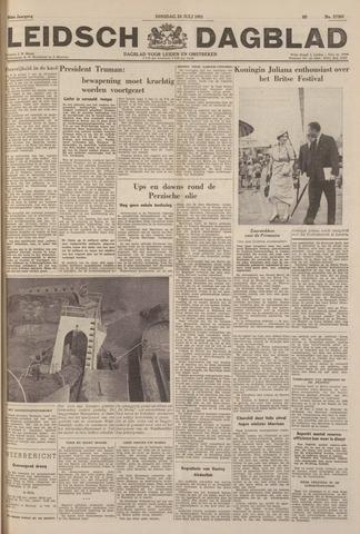 Leidsch Dagblad 1951-07-24
