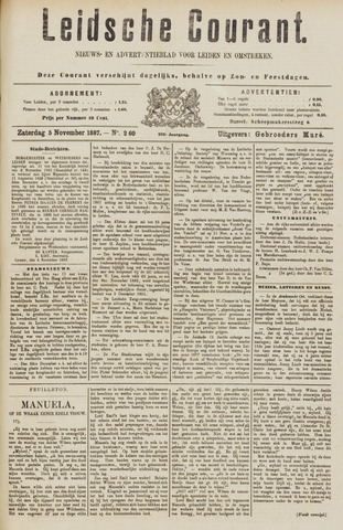 Leydse Courant 1887-11-05