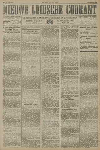 Nieuwe Leidsche Courant 1927-07-29