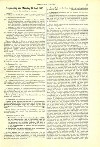 Handelingen van de Raad 1937-06-14