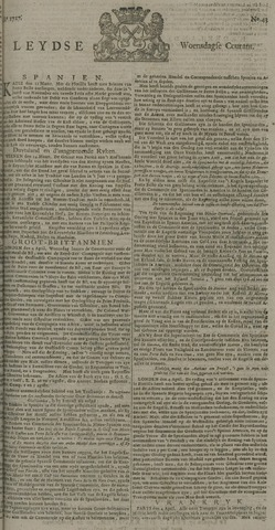 Leydse Courant 1727-04-09