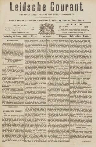 Leydse Courant 1887-01-27
