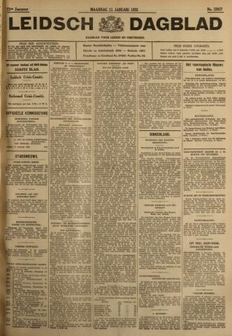 Leidsch Dagblad 1932-01-11