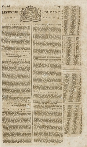 Leydse Courant 1826-02-27