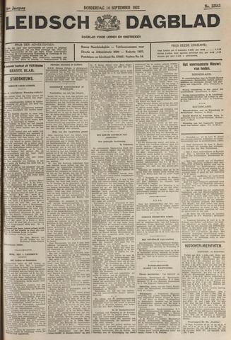 Leidsch Dagblad 1933-09-14