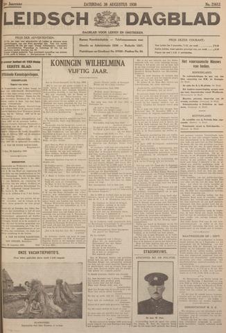 Leidsch Dagblad 1930-08-30