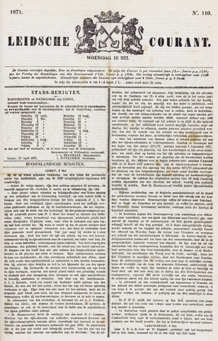 Leydse Courant 1871-05-10