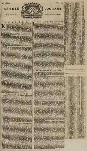Leydse Courant 1805-09-13