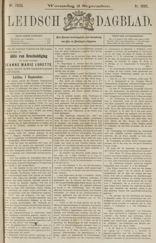 Leidsch Dagblad 1885-09-02