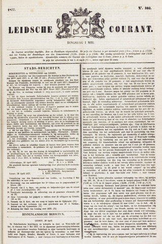 Leydse Courant 1877-05-01